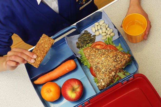 Some children are entitled to free school meals