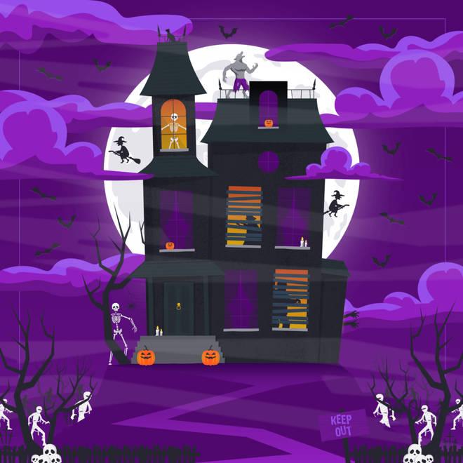 Zoopla Halloween puzzle