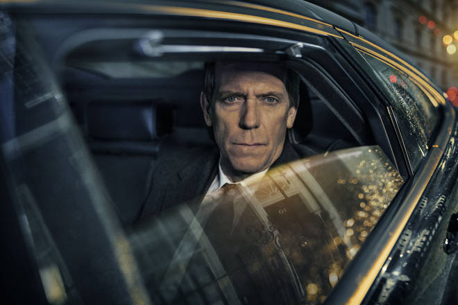 Hugh Laurie as Peter Laurence MP in Roadkill