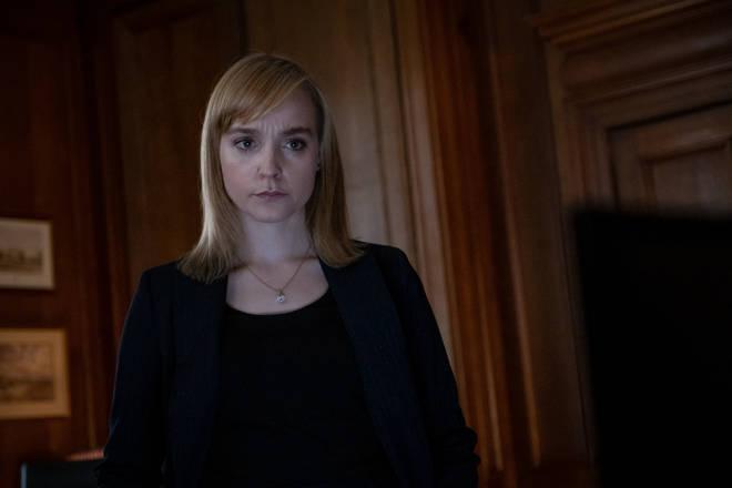 Olivia Vinall as Julia Blythe in Roadkill