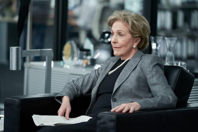 Patricia Hodge as Lady Roche in Roadkill