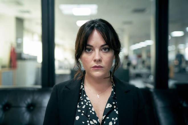 Sarah Greene as Chairman Pepper in Roadkill