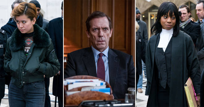 Hugh Laurie stars as Peter Laurence MP in Roadkill
