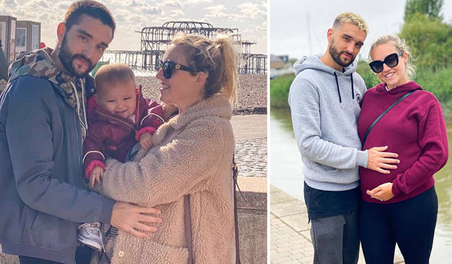 Tom Parker and his wife Kelsey have welcomed their second baby