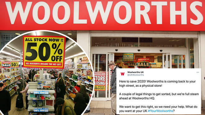 What is the deal with Woolworths, and is it reopening?