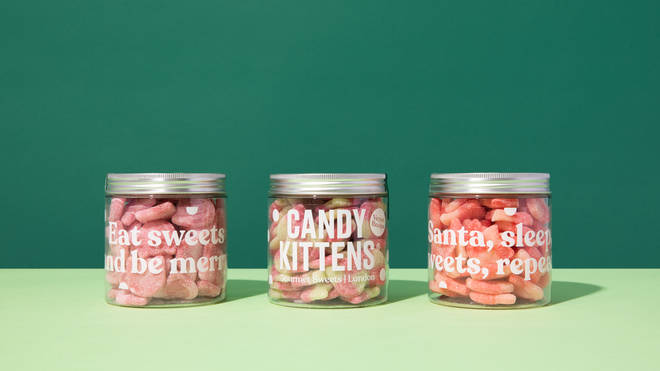Candy Kittens sweet jars