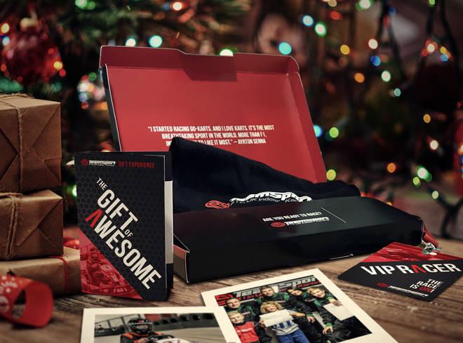 Go-Karting gift box by TeamSport