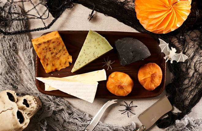 The cheeses are all hand picked for their spooky factor