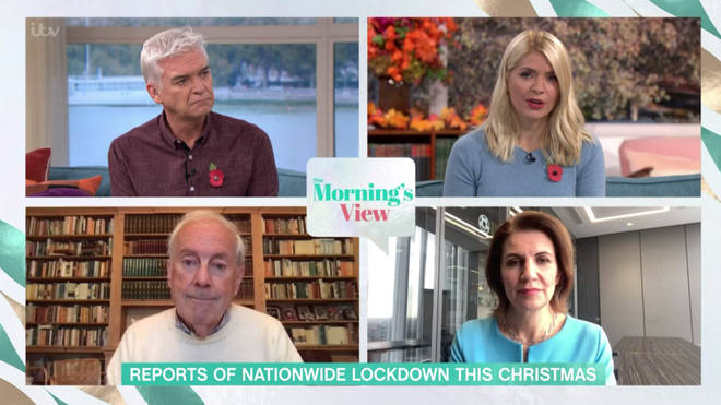 This Morning discussed Christmas in a pandemic