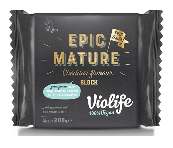 Violife sell a range of delicious vegan cheeses