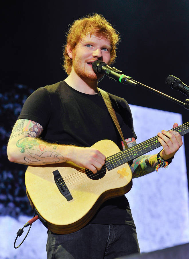 Ed Sheeran's Thinking Out Loud is the most popular song to listen to during labour