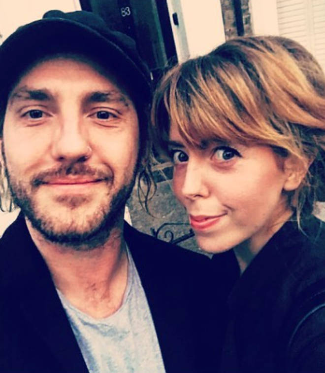 Seann Walsh and Rebecca Humphries when they were a couple