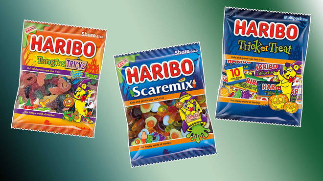 Keep an eye out for Haribo's spooky sweets