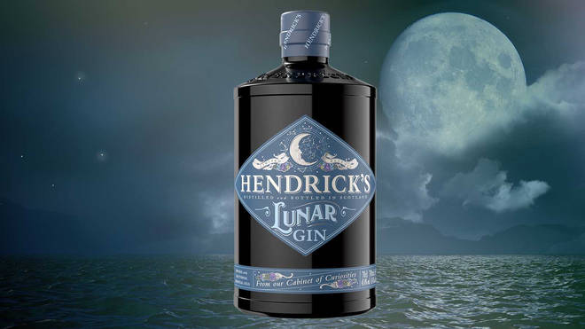 This special edition Hendricks is perfect for a moonlight tipple