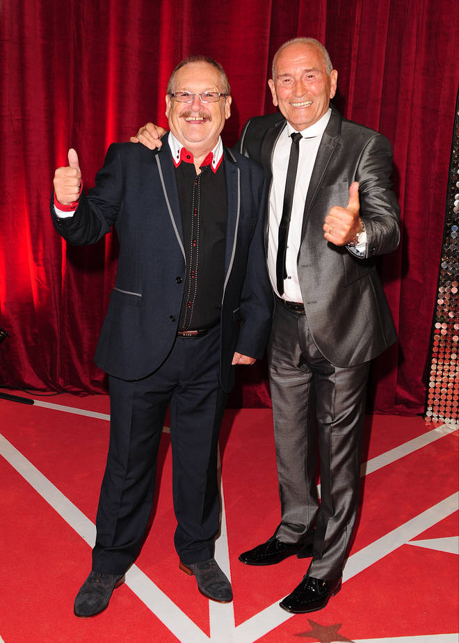 Bobby Ball and Tommy Cannon presented the Cannon and Ball show