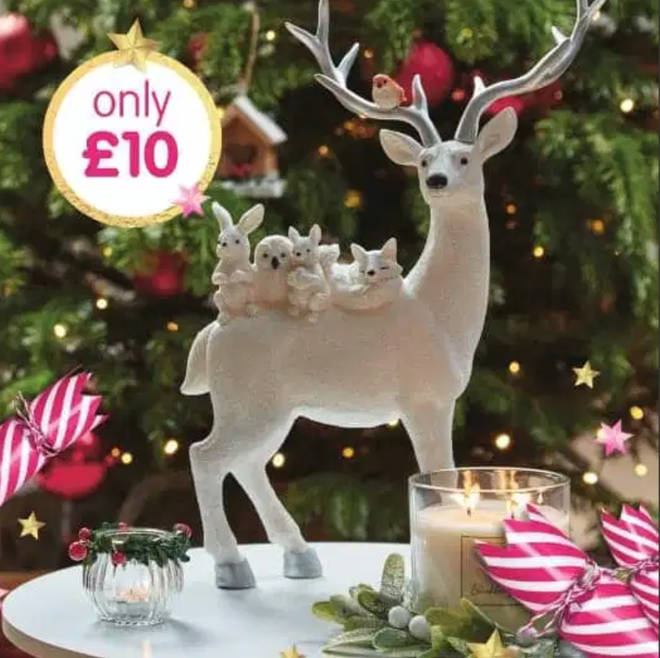 The reindeer is being sold for £10 at B&M