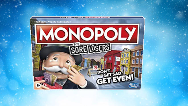 Monopoly for sore losers is the perfect Christmas game