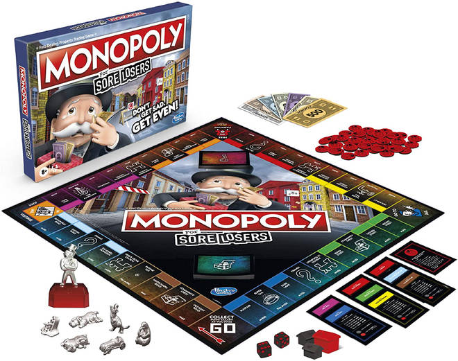 Monopoly for sore losers is available to buy for £18