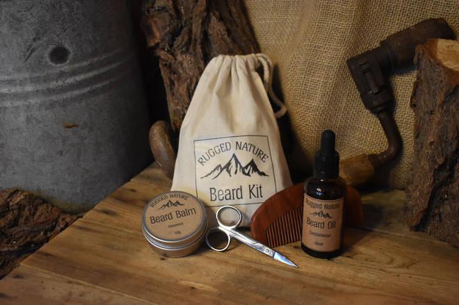 Rugged Nature beard grooming kit