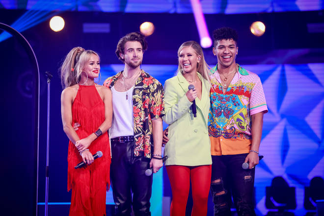 Mixed group Jasper Blue were eliminated from Little Mix: The Search