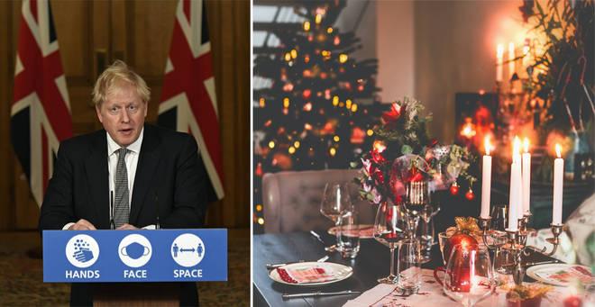 Boris Johnson has spoken out on the festive period