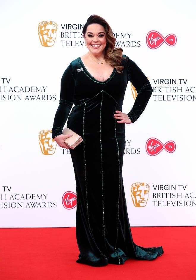 Lisa Riley shot to fame as Mandy Dingle in Emmerdale