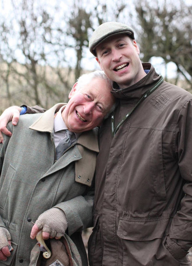 Prince William reportedly tested positive around the same time his dad, Prince Charles, also did