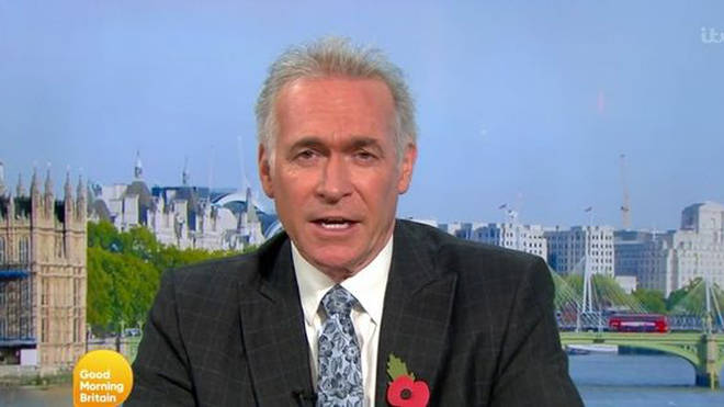 Dr Hilary spoke about the second lockdown on GMB this morning