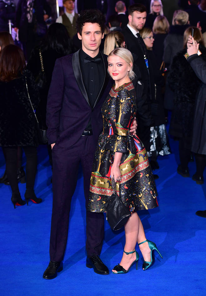 Lucy Fallon was dating Tom Leech for four years