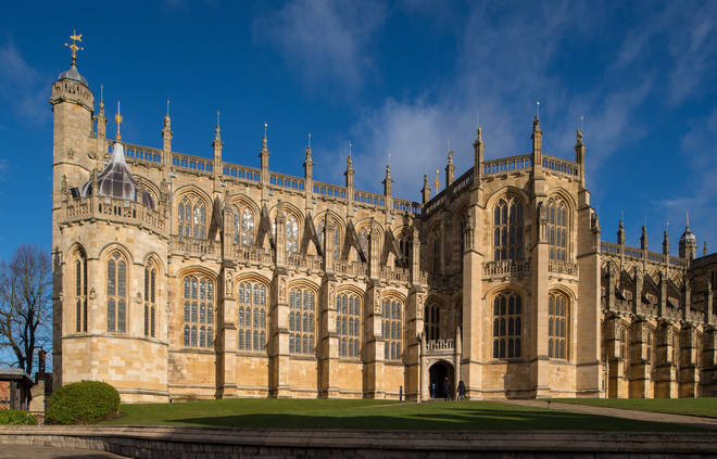 The couple will wed at St George's Chapel in Windsor Castle