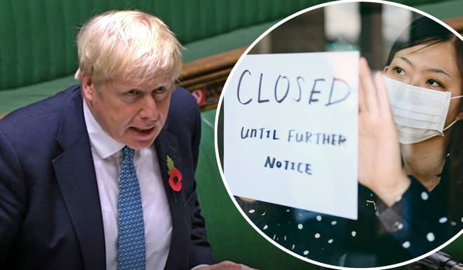 Boris Johnson has promised the lockdown will only be a month long