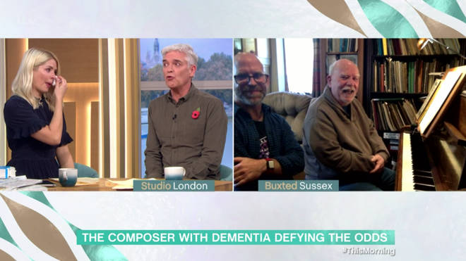 Holly and Phil spoke to the former music teacher who is fighting dementia