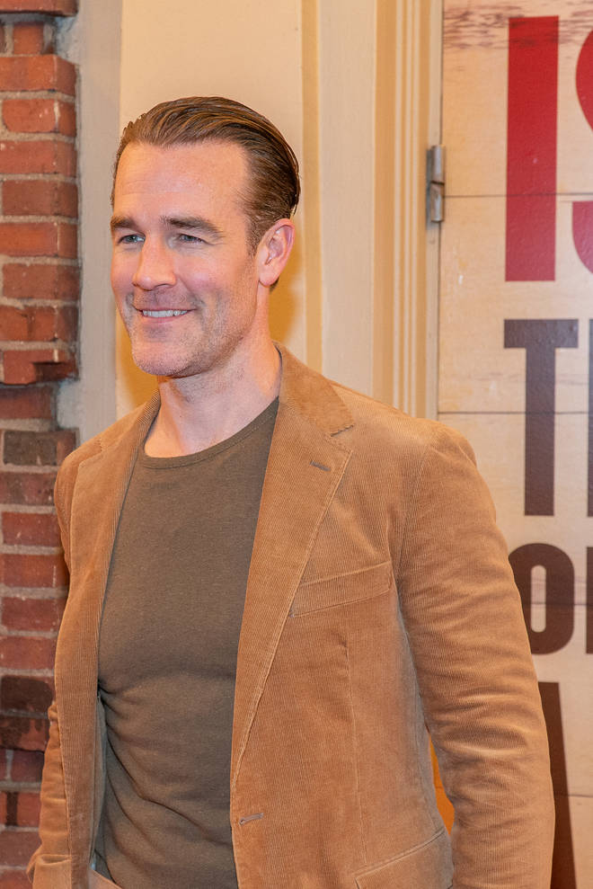 James played title character Dawson
