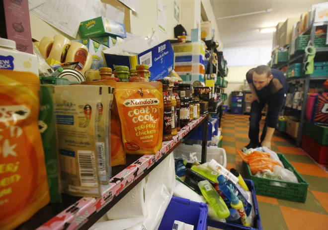 Trussell Trust is providing essential food parcels through lockdown
