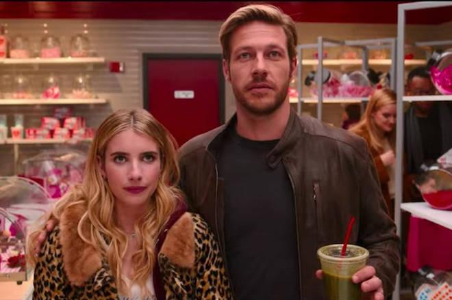 Luke stars alongside Emma Roberts in Holidate