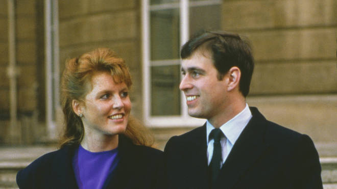 Sarah's life changed when she met Prince Andrew