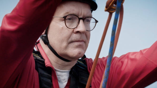Tom Watson has taken on the Don't Rock The Boat challenge