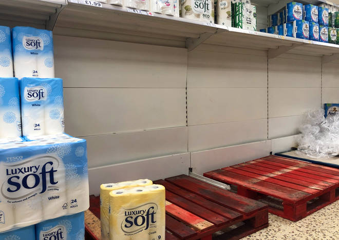 Tesco has implemented rationing on some products