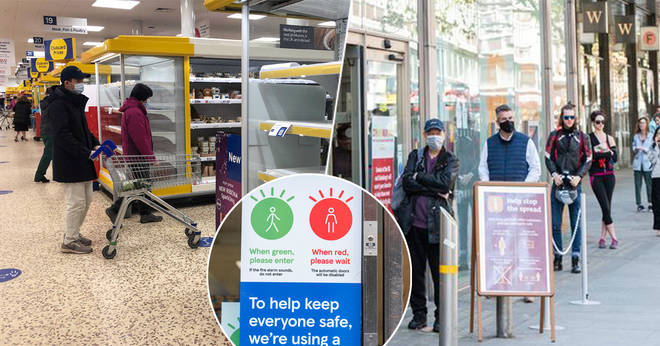 Supermarkets have new lockdown rules