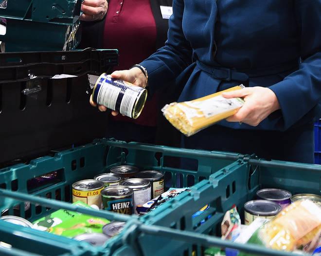 Food banks have seen increased demand
