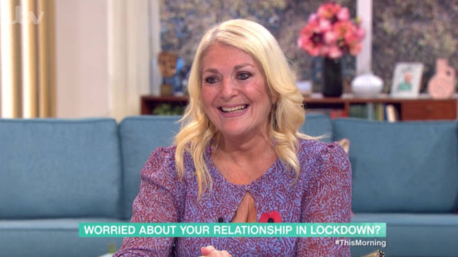 Vanessa Feltz told the woman the relationship had 'no legs'