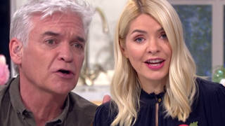Holly Willoughby and Phillip Schofield shocked as caller complains 'lockdown is ruining my affair'