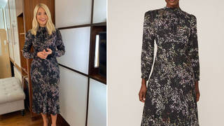 Holly Willoughby's dress is from Phase Eight