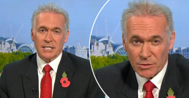 Dr Hilary hit back at the viewer on GMB today