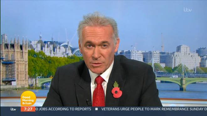 Dr Hilary lashed out at the fan on GMB today