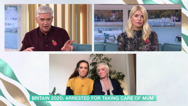 Ylenia Angeli and her daughter appeared on This Morning after the incident