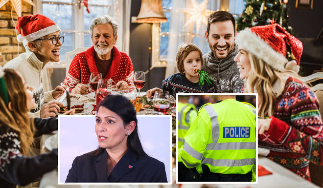 Priti Patel has responded to the Commissioner's comments