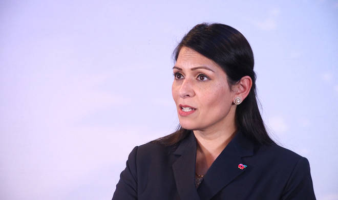 Priti Patel said the Commissioner was expressing 'his own personal view and opinion'