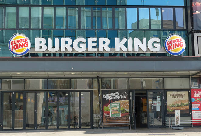 Burger King is open for takeaways in England