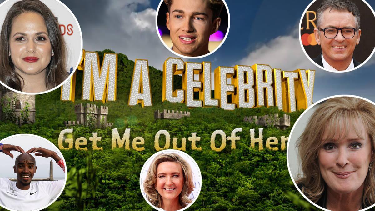 I M A Celebrity 2020 Full Line Up Revealed Including Shane Richie Mo Farah And Heart